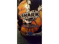 Shark xl miguel duhamel excellent condition tinted viser