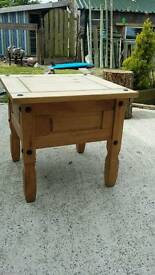 Mexican Pine side / coffee table