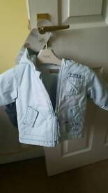 Boys timberland coat age 6 months