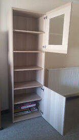 TV UNIT IKEA BESTA White Stained Oak Excellent condition