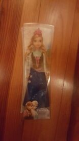 Brand new Anna doll (in box)
