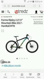 Forme Ripley mountain bike for sale