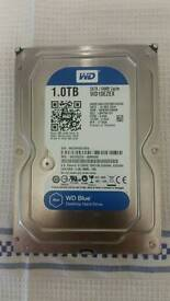 Western Digital BLUE 1tb Sata Harddrive