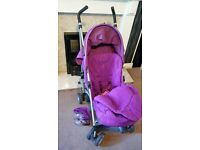 lightweight stroller/ pushchair