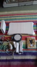 Nintendo Wii Bundle with games and Fit board