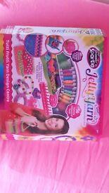 Brand New Shimmer n Sparkle Jelly Yarn Tutti Frutti Yarn Design Centre