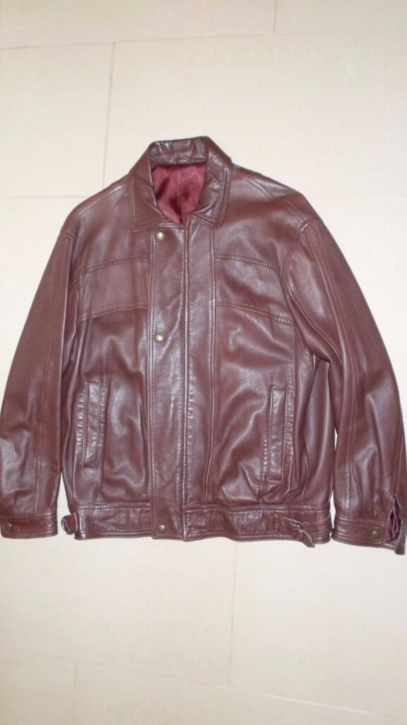 Leather jacket, good quality, dark brown, medium size, Purchased from Selfridgesin Basildon, EssexGumtree - Leather jacket, good quality, dark brown, medium size, Purchased from Selfridges, Oxford street. 2 slanted side pockets and 1 inside pocket Made by Courtney of London
