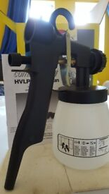 HVLP Spray Gun - Connects to Vacume * New in Box