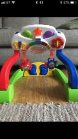Chicco duo baby gym music activity centre