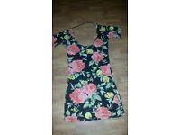 Dress size 8 floral