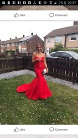 Stunning red prom dress made by kate fernley