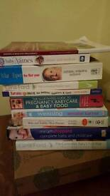 Book bundle - pregnancy and baby care