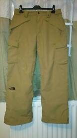 NORTH FACE HYVENT LINED TROUSERS