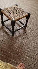woven stool