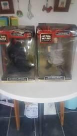 Darth Maul and Qui-Gonn Jinn collectibles