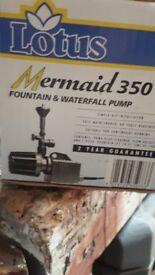 Mermaid 350 Fountain and Waterfall pump