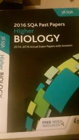 Higher Biology past papers