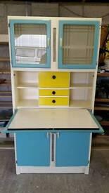 Restored 1950s 1960s Retro Vintage kitchen Larder,pantry,cupboard,cabinet