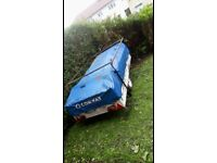 Conway trailer tent with accessories