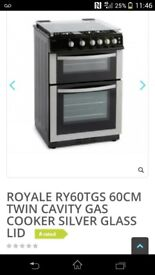 ####GAS COOKER WITH GLASS LID####