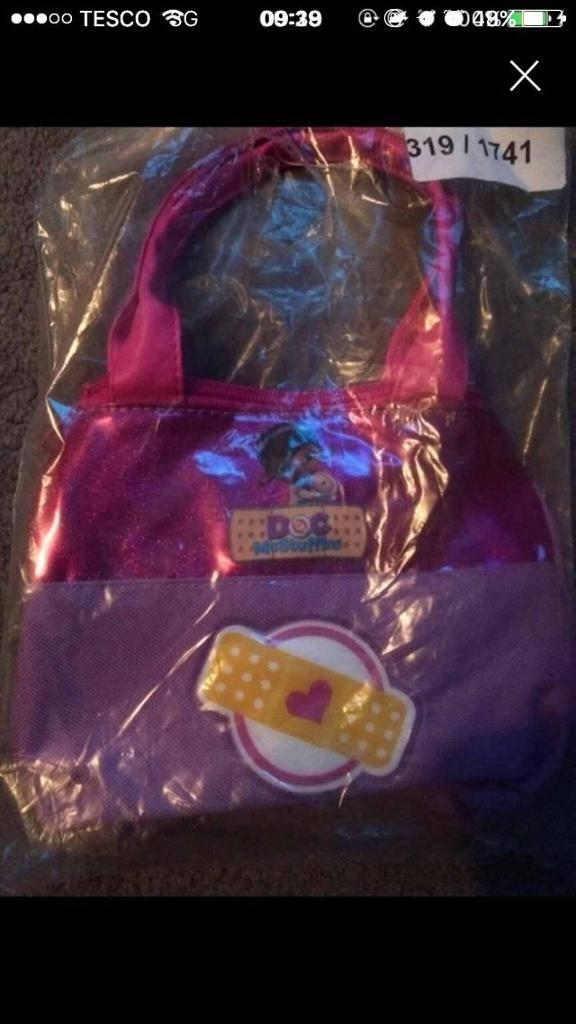 Kids handbags DOC MCSTUFFINS
