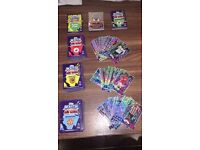 Over 500 Match Attax Trading Cards
