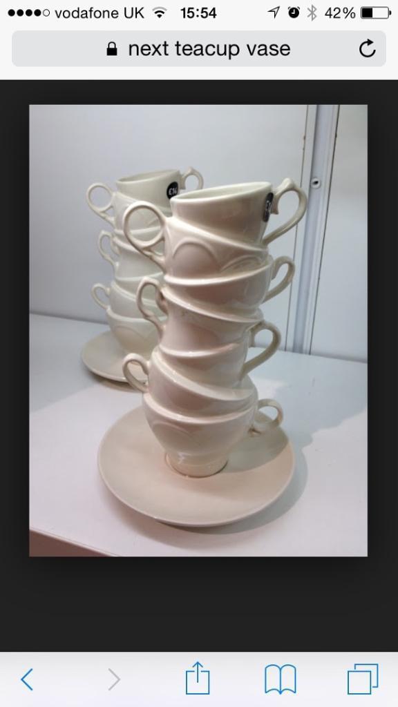 Next Teacup Vase In Bishopbriggs Glasgow Gumtree