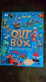 Out of the Box activity/craft book - new
