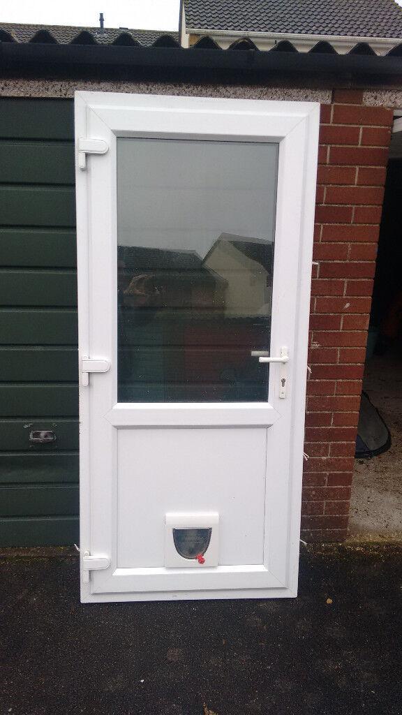 Double Glazed Back Door With Cat Flap In Verwood Dorset Gumtree
