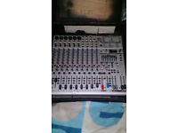 Mixing Desk Behringer Eurorack UB1832FX Pro and Case