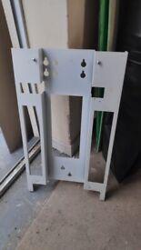 Logic boiler stand off bracket