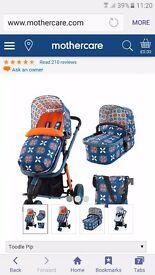 Cosatto Pram with car seat BRAND NEW IN BOX