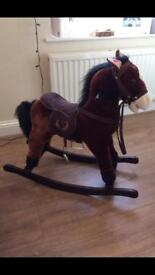 Beautifully crafted rocking horse