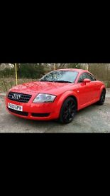 Audi tt quattro 225 bhp, fsh, 12month mot, timing belt + water pump changed at 110k,