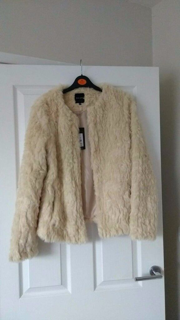 Fur Jacket, from Newlook. Label is still on/never been worn. £15.