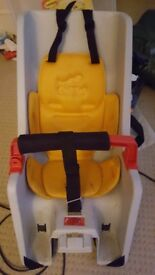 Co-pilot toddler bike seat