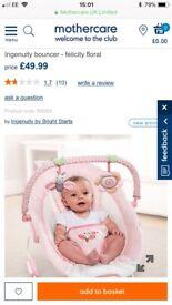 Ingenuity baby bouncer. Brand new!