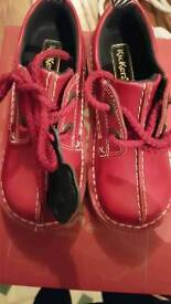 Childs Red Kickers never worn!