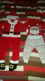Several boys 9-12 mnths xmas outfits