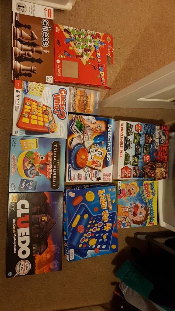 10 children's games