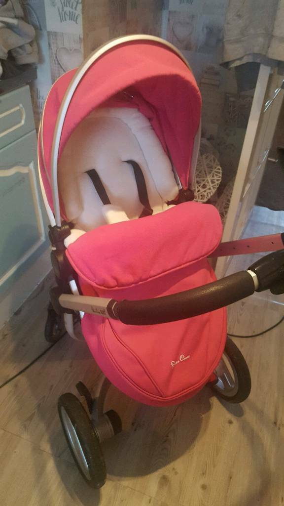 Pink silvercross surf immaculate condition