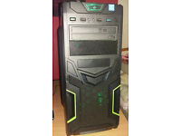 Brand new Gaming pc. 8gb ddr4 2133mhz, dual core 3.3ghz 1151 cpu, MSI ddr4 motherboard.