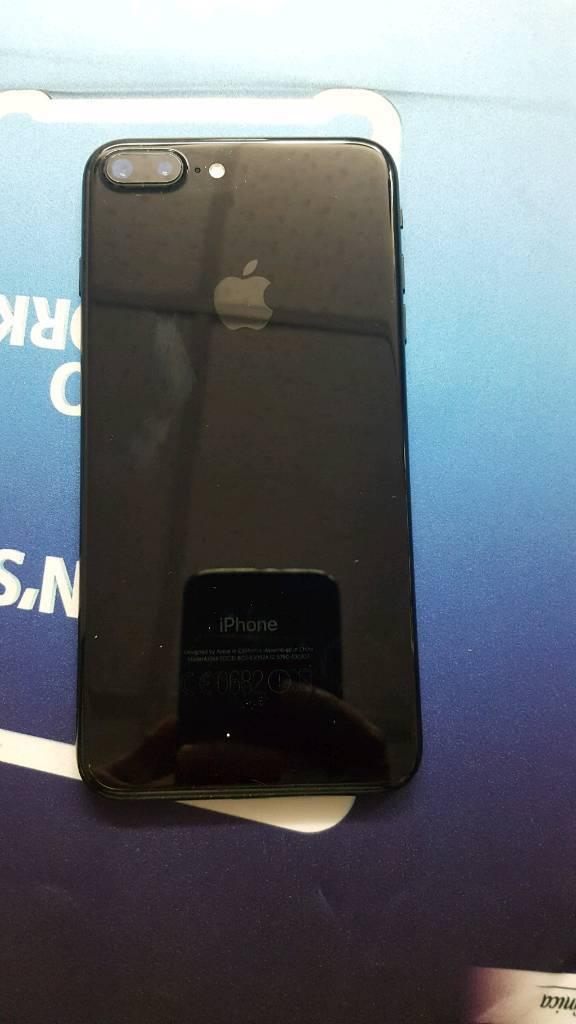 I phone 7+ jet black 256gb unlock