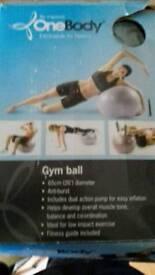 Gym ball 65cm boxed