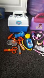 Doc mcstuffins + normal medical kit
