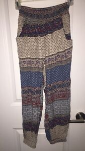 Patterned pants from Don't Ask Why (American Eagle)