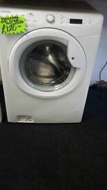Hoover white 8.kg load 1600 spin washing machine