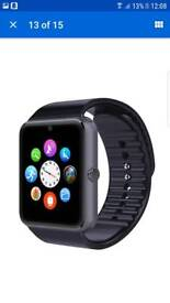 Smart phone with a watch toch screen