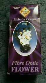 Fibre optc flower