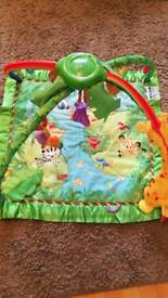 Fisher-Price rainforest Playmat